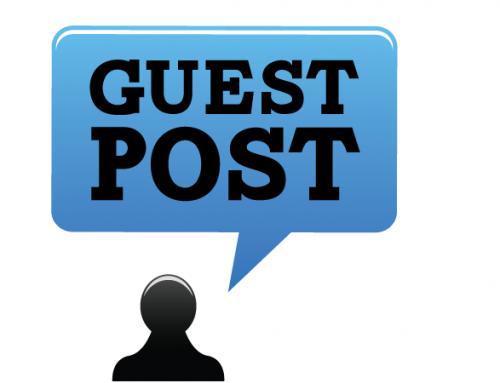 Guest post – Guest blogging