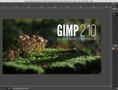 Dopo 25 anni di CorelDRAW è tempo di passare a GIMP 2.10!